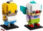 41632 LEGO® Brickheadz Homer Simpson és Ropi, a bohóc