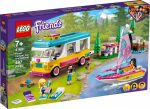 41681 LEGO® Friends Erdei lakóautó és vitorlás