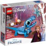 43186 LEGO® Disney Princess™ Bruni a szalamandra, megépíthető karakter
