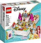 43193 LEGO® Disney™ Ariel, Belle, Hamupipőke és Tiana mesebeli kalandja