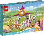 43195 LEGO® Disney™ Belle és Aranyhaj királyi istállói