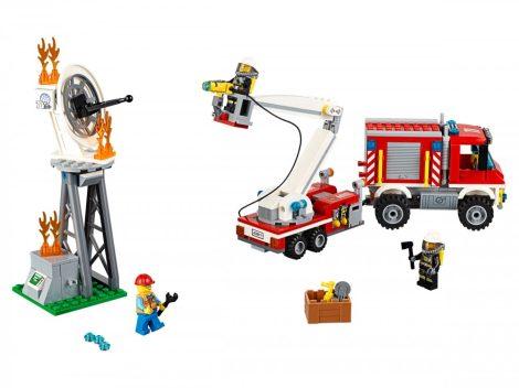 60111 LEGO® City Emelőkosaras tűzoltóautó