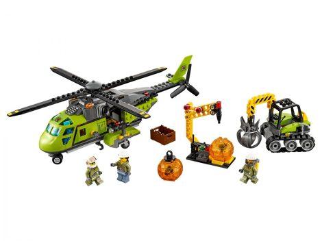 60123 LEGO® City Vulkánkutató szállítóhelikopter
