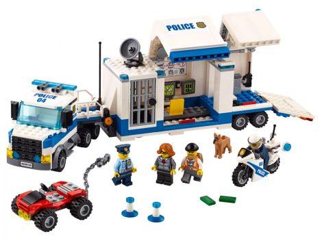 60139 LEGO® City Mobil rendőrparancsnoki központ