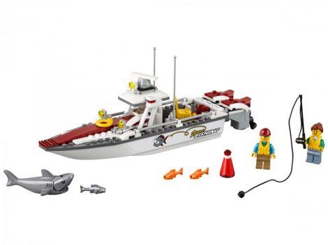 60147 LEGO® City Horgászcsónak