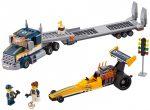 60151 LEGO® City Dragster szállító kamion