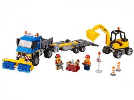 60152 LEGO® City Seprőgép és exkavátor