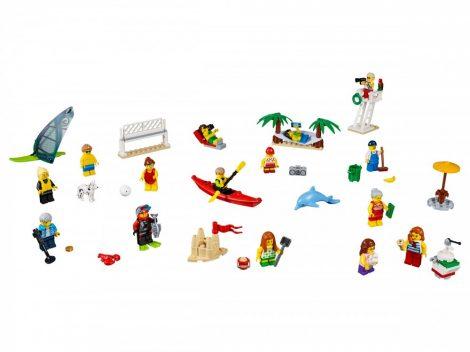 60153 LEGO® City Figuracsomag – Szórakozás a tengerparton