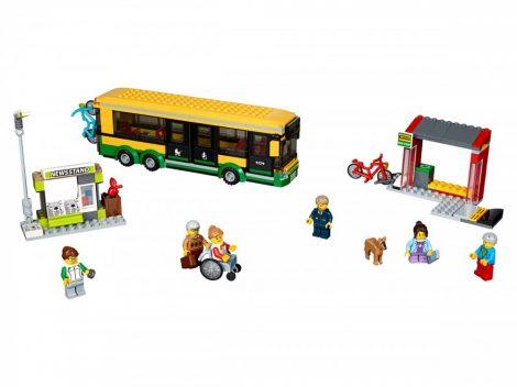 60154 LEGO® City Autóbusz állomás