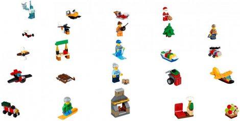 60155 LEGO® City Adventi naptár 2017