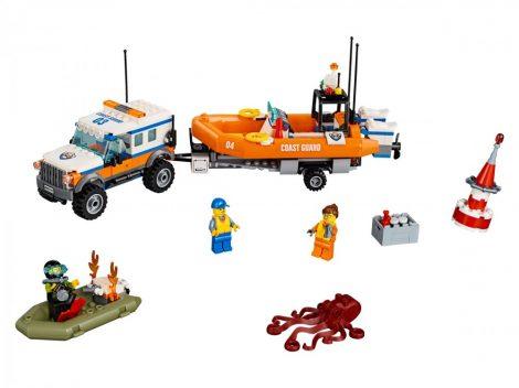 60165 LEGO® City 4 x 4 Sürgősségi egység