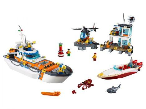60167 LEGO® City A parti őrség főhadiszállása