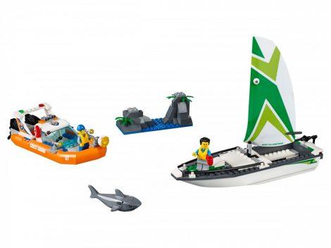 60168 LEGO® City Vitorlás hajó mentése