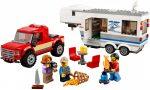 60182 LEGO® City Furgon és lakókocsi