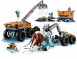 60195 LEGO® City Sarki mobil kutatóbázis