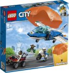 60208 LEGO® City Légi rendőrségi ejtőernyős letartóztatás