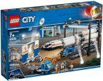 60229 LEGO® City Rakéta összeszerelés és szállítás