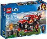 60231 LEGO® City Tűzoltó-parancsnoki rohamkocsi
