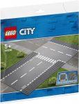 60236 LEGO® City Egyenes útszakasz és T-elágazás