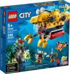 60264 LEGO® City Óceáni kutató tengeralattjáró