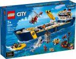 60266 LEGO® City Óceánkutató hajó