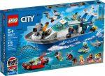 60277 LEGO® City Rendőrségi járőrcsónak