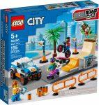 60290 LEGO® City Gördeszkapark