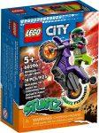 60296 LEGO® City Wheelie kaszkadőr motorkerékpár