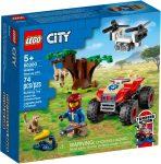 60300 LEGO® City Vadvilági ATV mentőjármű