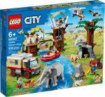 60307 LEGO® City Vadvilági mentőtábor