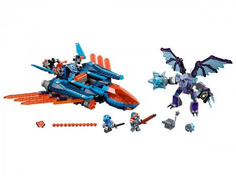 70351 LEGO® NEXO Knights™ Clay sólyomvadász ágyúja