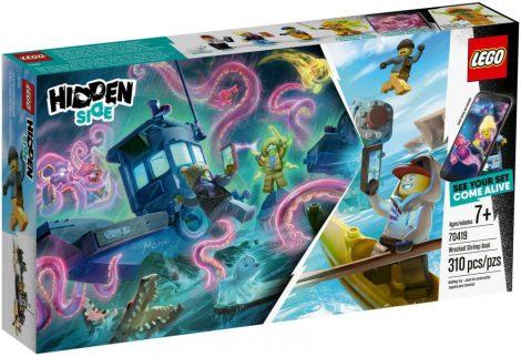 70419 LEGO® Hidden Side Megfeneklett rákászhajó