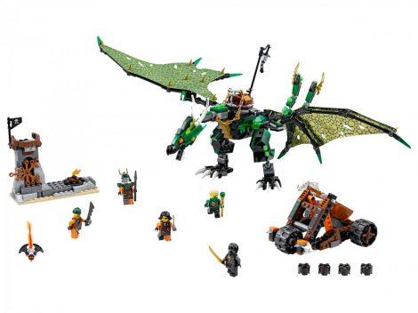 70593 LEGO® NINJAGO™ A Zöld NRG sárkány
