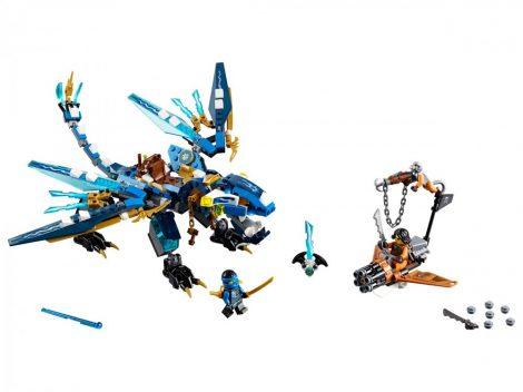 70602 LEGO® NINJAGO® Jay elemi sárkánya