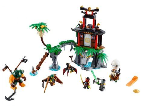 70604 LEGO® NINJAGO™ Az özvegy tigris szigete