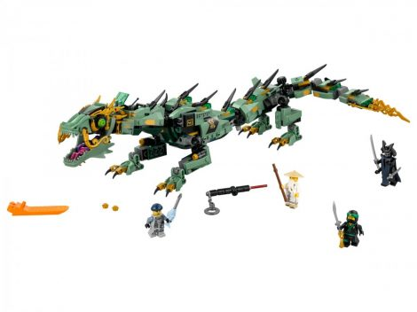 70612 LEGO® NINJAGO® Zöld nindzsa mechanikus sárkány