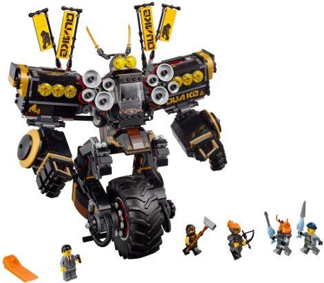 70632 LEGO® NINJAGO® Földrengés robot