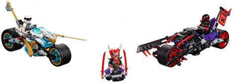 70639 LEGO® NINJAGO® A Jaguárkígyó utcai verseny
