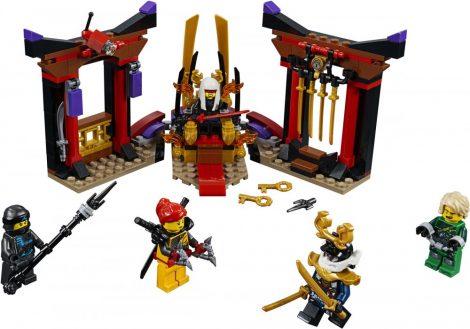 70651 LEGO® NINJAGO® Leszámolás a trónteremben