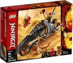 70672 LEGO® NINJAGO® Cole cross motorja