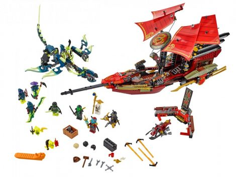 70738 LEGO® NINJAGO® A Sors Adománya utolsó repülése