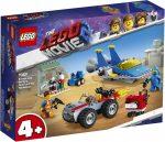 70821 LEGO® The LEGO® Movie 2™ Emmet és Benny Építő és javító műhelye!