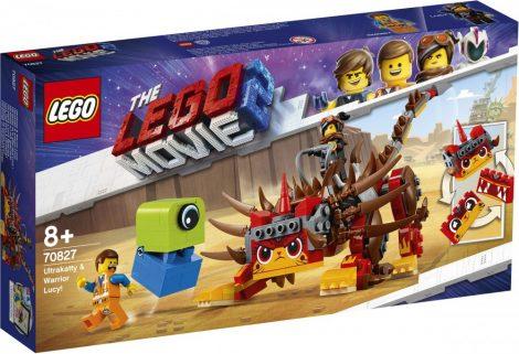 70827 LEGO® The LEGO® Movie 2™ UltraKatty és harcos Lucy!