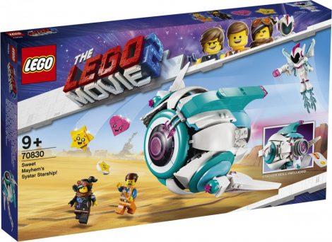 70830 LEGO® The LEGO® Movie 2™ Édes Káosz Tesho űrhajója!