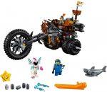 70834 LEGO® The LEGO® Movie Fémszakáll nehézfém háromkerekű motorja!