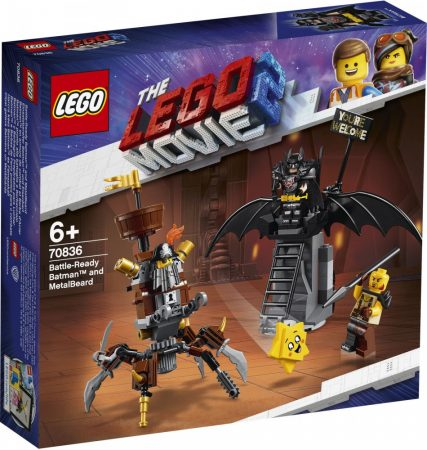 70836 LEGO® The LEGO® Movie 2™ Harcra kész Batman™ és Fémszakáll