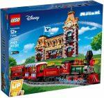 71044 LEGO® Disney Princess™ Disney vonat és vasútállomás