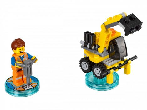 71212 LEGO® Dimensions® Fun Pack - The LEGO Movie Emmet and Emmet's Excavator