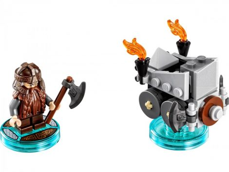 71220 LEGO® Dimensions® Fun Pack - The Lord of the Rings Gimli and Axe Chariot