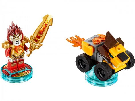 71222 LEGO® Dimensions® Fun Pack - Legends of Chima Laval and Mighty Lion Rider